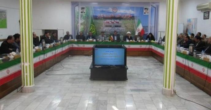 هم اندیشی مسئولین حوزه معاونت توسعه مدیریت بخش کشاورزی استان مازندران