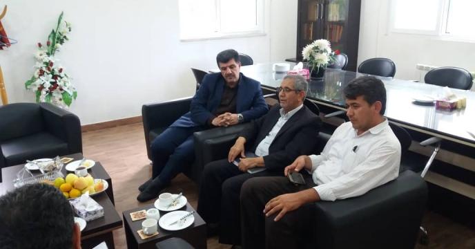 دیدار مدیر شرکت خدمات  حمایتی کشاورزی  استان گلستان  با مدیر جهاد کشاورزی کشاورزی شهرستان کردکوی