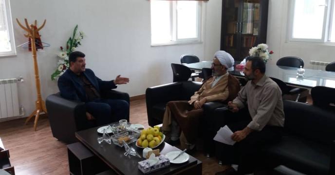 نشست صمیمی با مسئول محترم حوزه نمایندگی ولی فقیه سازمان جهاد کشاورزی گلستان