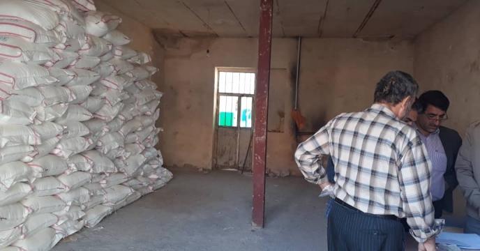 بازدید از انبار کارگزاران شهرستان چاراویماق