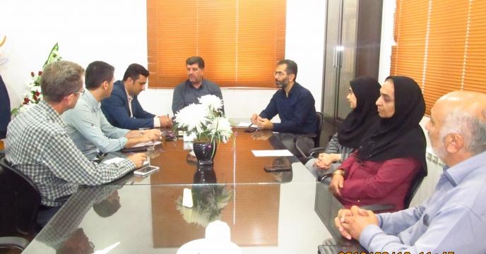 جلسه هماهنگی کارگروه دبیرخانه شرکت خدمات حمایتی کشاورزی استان گلستان
