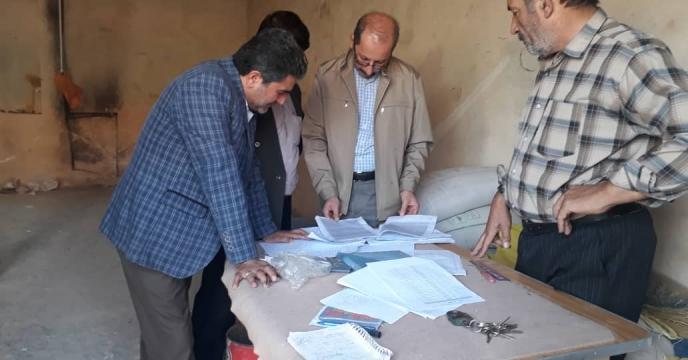 بازدید از انبار کارگزاران شهرستان سراب