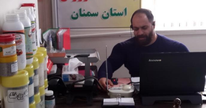 گزارش فعالیت باشگاه کشاورزان در شرکت خدمات حمایتی کشاورزی استان سمنان