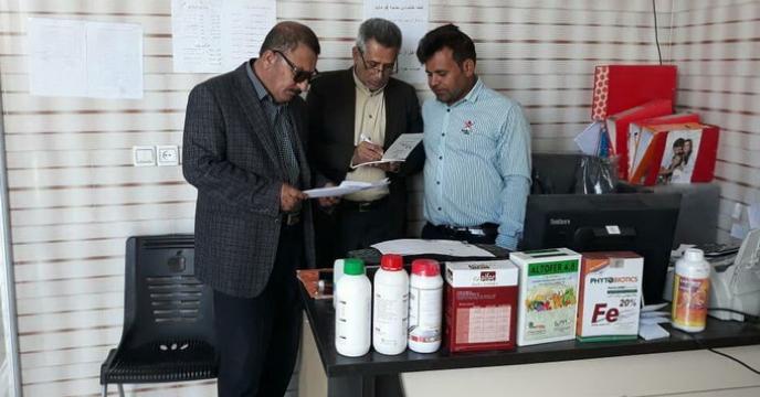 بازدید و نظارت نمایندگان اعزامی شرکت خدمات حمایتی کشاورزی استان فارس از کارگزاریهای جنوب استان فارس