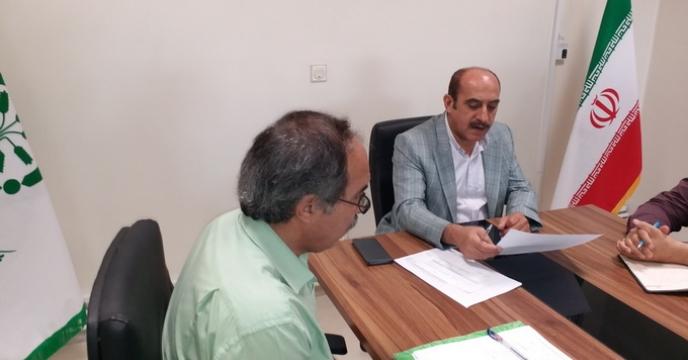 بررسی وضعیت سهمیه و میزان جذب کود شهرستان نظر آباد