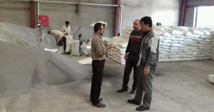 بازدید مدیر شرکت خدمات حمایتی کشاورزی استان گلستان  از انبار سازمانی گرگان