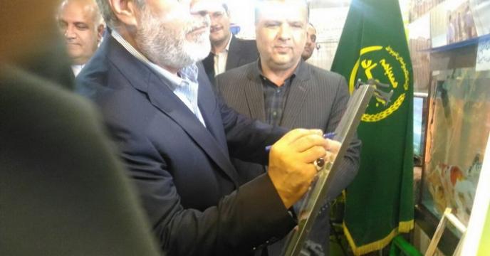 بازدید وزیر کشور از دستاوردهای کشاورزی استان خراسان شمالی