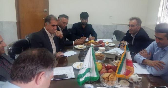جلسه کارگروه فنی بازرگانی بذرشرکت خدمات حمایتی استان کرمانشاه