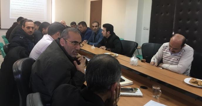 شرکت در پنجمین جلسه کارگروه کنترل و نظارت بر مواد کودی