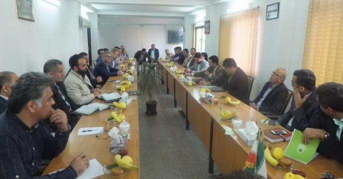 نشست هماهنگی کارگزاران توزیع نهاده های کشاورزی در آمل