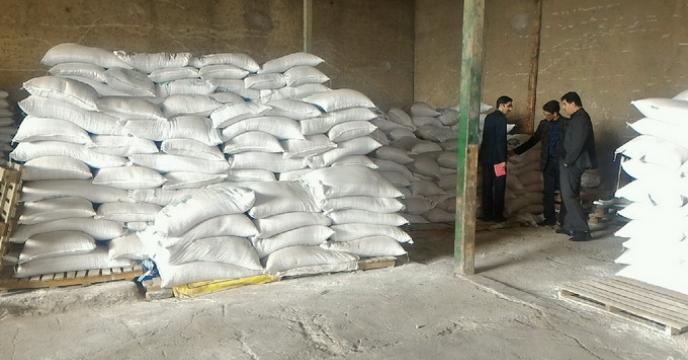 بازدید سرپرست شرکت  خدمات حمایتی کشاورزی استان گلستان از انبار  عاملین فروش بذر گندم