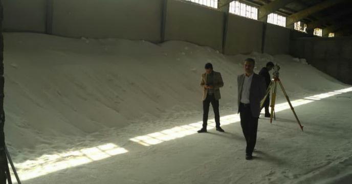 انبارگردانی  انبارهای شرکت خدمات حمایتی کشاورزی استان فارس
