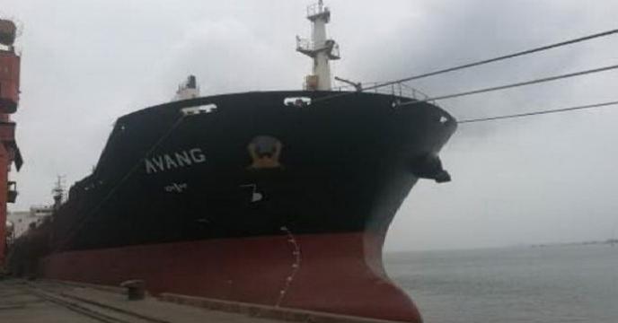 کشتی آونگ عازم بندر عسلویه بوشهر گردید و طی روز جاری پهلودهی خواهد شد
