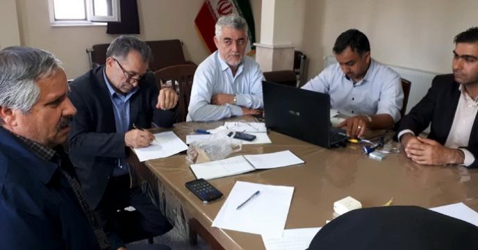 جلسه بازگشایی پاکات  مناقصه واگذاری امور خدماتی که از طریق سامانه تدارکات الکترونیکی دولت