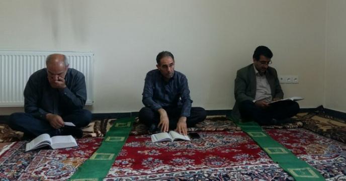 برگزاری مراسم تلاوت قرآن کریم به مناسبت ماه مبارک رمضان، آذربایجان شرقی
