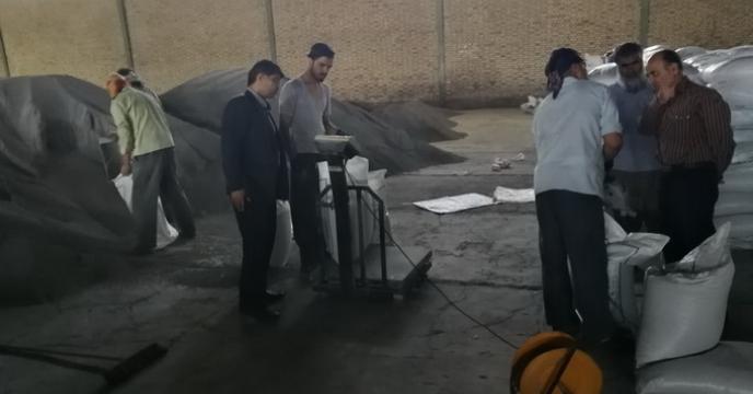 بازدید از انبار های استان سمنان