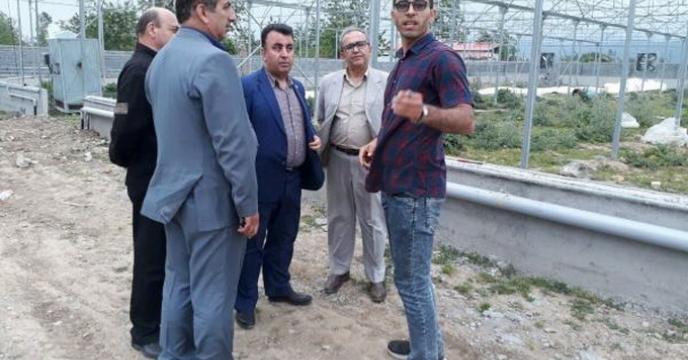 بازدید مدیر مازندران به همراه رئیس سازمان از طرح های در دست اجرا