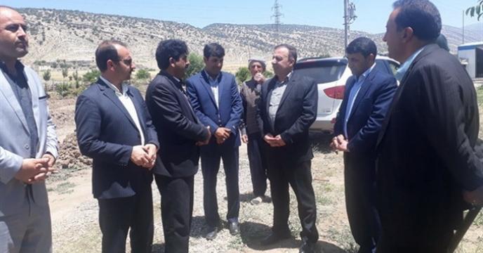بازدید معاون سیاسی امنیتی استاندار ازدو طرح درشهرستان ایوان