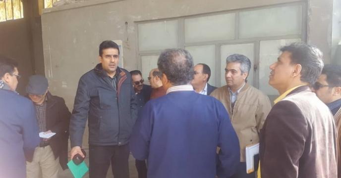 بازدید  مدیر محترم فنی و بهبود کیفیت بذر ونهال به همراه گروه ارزیابی شرکت های تولید بذر از استان خراسان جنوبی
