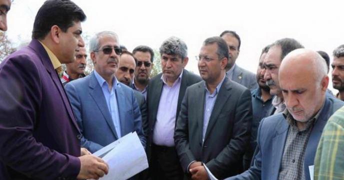 بازدید رئیس و اعضای کمیسیون کشاورزی مجلس از خسارت سیل به بخش کشاورزی  استان مازندران