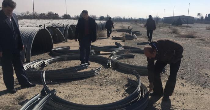 بازدید مدیر محترم امور ماشین آلات و ادوات کشاورزی از استان البرز