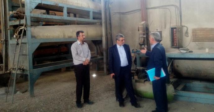 بازدید جناب آقای مهندس ملازاده، عضو محترم هیئت مدیره و معاون فنی و کنترل کیفی شرکت از دستگاههای بوجاری و انبارهای شرکت خدمات حمایتی کشاورزی استان آذربایجان شرقی