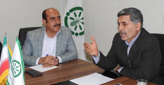 بازدید مشاورمحترم مدیرعامل در امور استان ها از استان البرز