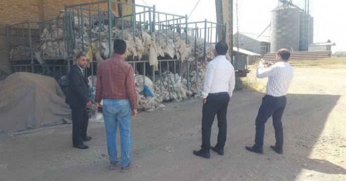 بازدید کارشناسان ستادی از محل انبار سازمانی شرکت خدمات حمایتی کشاورزی استان قزوین