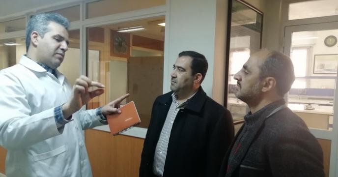 بازدید از مرکز ملی ذخائر ژنتیک ایران