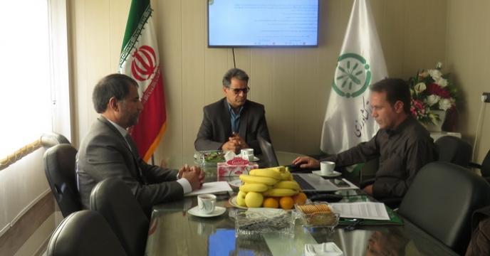 جلسه بازگشایی پاکات مناقصه در استان خراسان شمالی