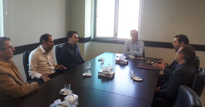 دیدار با رئیس سازمان جهاد کشاورزی استان قم