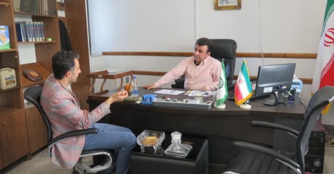 دیدار نماینده کارگزاران با مدیر استان مازندران