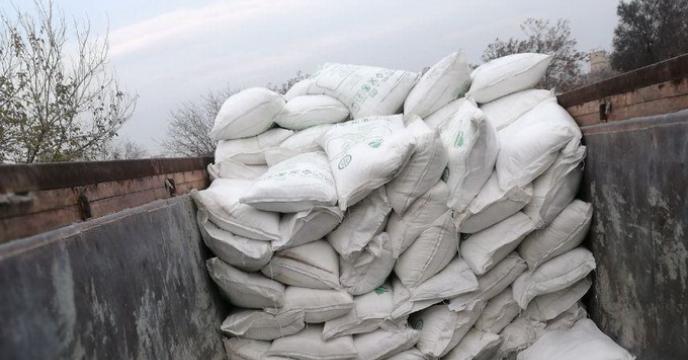 دومین محموله از طریق حمل ناوگان ریلی حاوی 270 تن کود اوره در ایستگاه راه آهن استان قزوین تخلیه شد