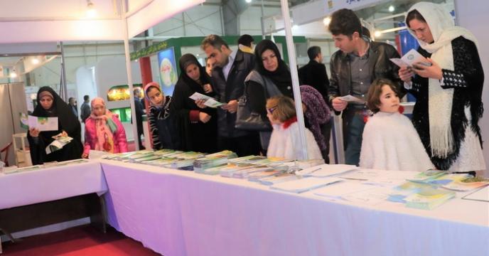 استقبال بی نظیر بازدید کنندگان از غرفه شرکت در دهمین نمایشگاه بین المللی