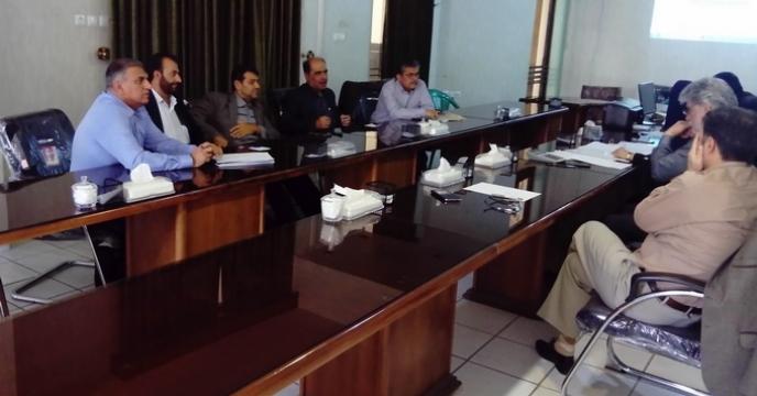 برگزاری جلسه کمیسیون معاملات با موضوع مناقصه حمل کود اوره