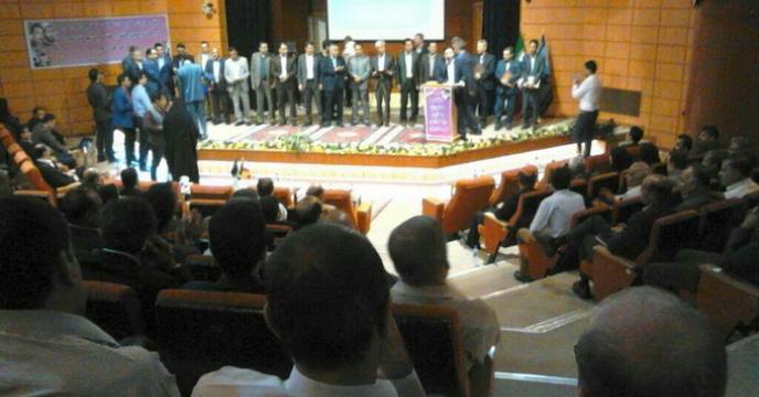 انتخاب و تجلیل از کارمندان نمونه شرکت خدمات حمایتی کشاورزی استان فارس در هفته ی دولت