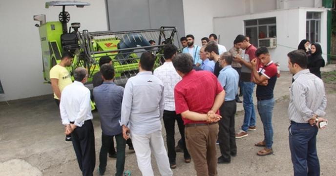 گزارش برگزاری دوره آموزشی کمباین هول کراپ برنج در شرکت خدمات حمایتی کشاورزی استان گیلان