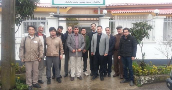 برگزاری دوره آموزشی کمباین برنج استان گیلان