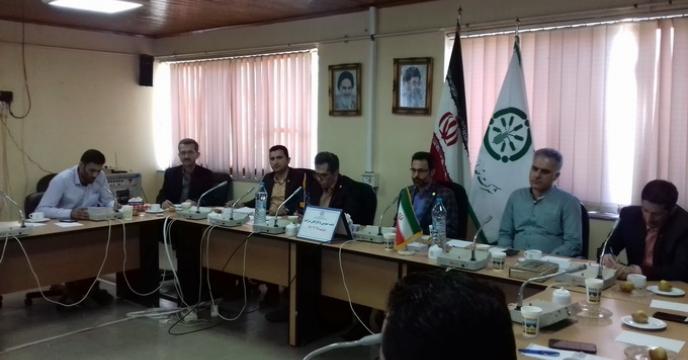 جلسه عمومی سرپرست شرکت خدمات حمایتی کشاورزی استان گلستان  با کارکنان  برگزارشد