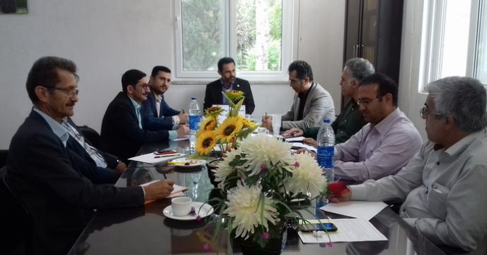 برگزاری جلسه ی شورای اداری در شرکت خدمات حمایتی کشاورزی استان گلستان