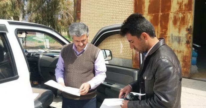 گزارش بازدید و نمونه برداری از 420 کارگزاری کود در سطح استان فارس در سال گذشته