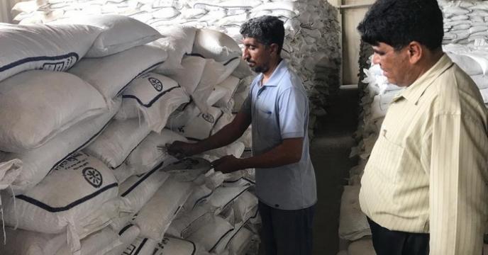 گزارش نمونه برداری از محموله 200 تنی سولفات پتاسیم استان هرمزگان