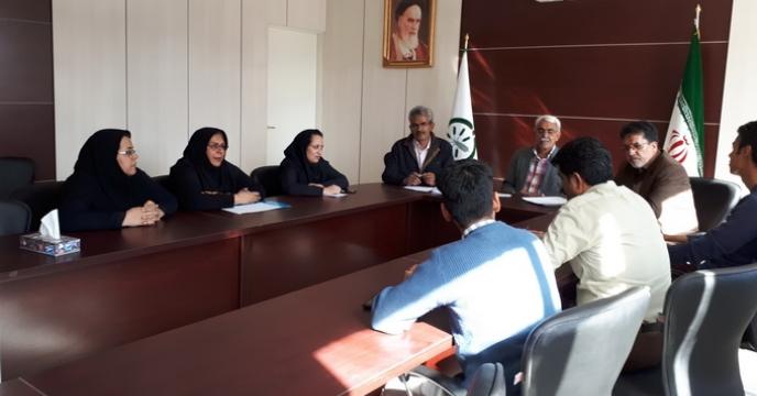 جلسه شورای هماهنگی امور اداری - مالی
