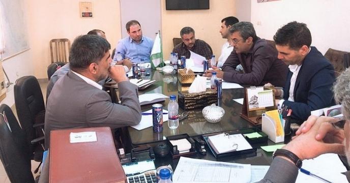 جلسه معاون اموربازرگانی ستاد با شرکت حمل و نقل هاگ بار