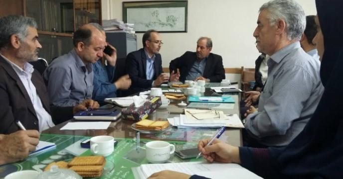 برگزاری جلسه کمیته توزیع کود استان در سازمان جهاد کشاورزی استان آذربایجان شرقی