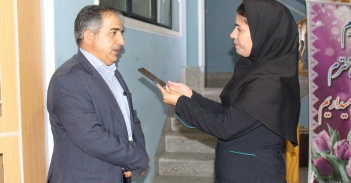 مصاحبه خبری مدیرشعبه ایلام با روزنامه راسان خبر
