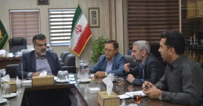 جلسه درخصوص حمل ونقل ریلی نهاده های کشاورزی استان فارس