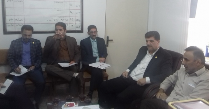 حضور کارگروه تخصصی  بذر شرکت خدمات حمایتی کشور در جلسه  کمیته فنی بذر گندم در استان گلستان