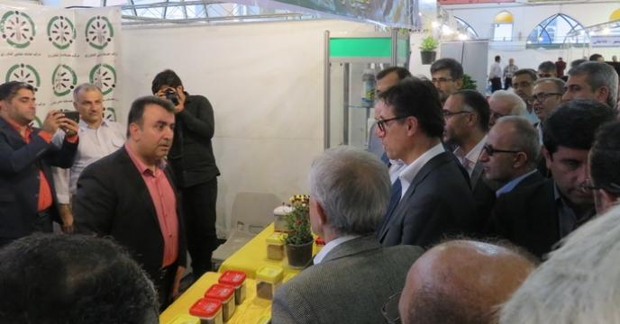 حضور چشمگیر شرکت خدمات حمایتی کشاورزی مازندران در نمایشگاه کشاورزی بابل