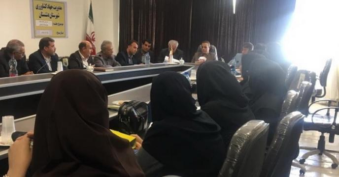 برگزاری جلسه آموزشی کارگزاران در استان بوشهر